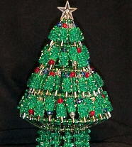 Kit 001- green tree with safety pins