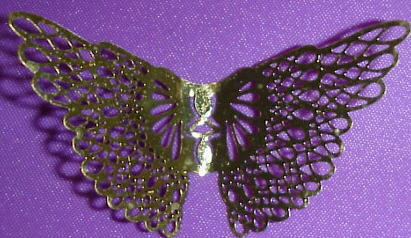 small craft gold angel wings