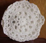 White Croched Doilies