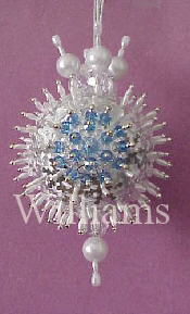 Satin Ball Ornament Kit