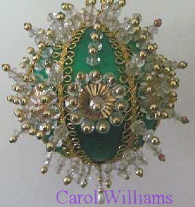 How To Make Beaded Christmas Ornaments